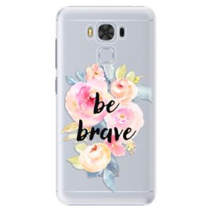 Plastové pouzdro iSaprio Be Brave na mobil Asus ZenFone 3 Max ZC553KL