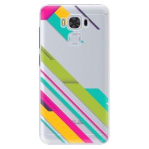 Plastové pouzdro iSaprio Barevné Pruhy 03 na mobil Asus ZenFone 3 Max ZC553KL
