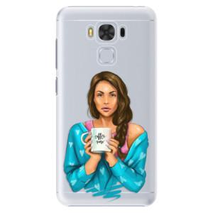 Plastové pouzdro iSaprio Coffee Now Brunetka na mobil Asus ZenFone 3 Max ZC553KL