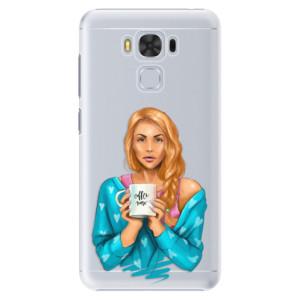 Plastové pouzdro iSaprio Coffee Now Zrzka na mobil Asus ZenFone 3 Max ZC553KL