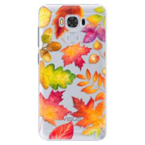 Plastové pouzdro iSaprio Autumn Leaves 01 na mobil Asus ZenFone 3 Max ZC553KL
