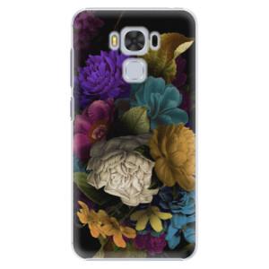 Plastové pouzdro iSaprio Temné Květy na mobil Asus ZenFone 3 Max ZC553KL