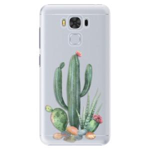 Plastové pouzdro iSaprio Kaktusy 02 na mobil Asus ZenFone 3 Max ZC553KL