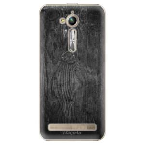 Plastové pouzdro iSaprio black Wood 13 na mobil Asus ZenFone Go ZB500KL