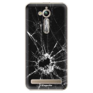 Plastové pouzdro iSaprio Broken Glass 10 na mobil Asus ZenFone Go ZB500KL