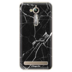 Plastové pouzdro iSaprio black Marble 18 na mobil Asus ZenFone Go ZB500KL