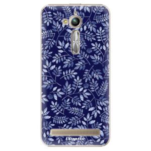Plastové pouzdro iSaprio Blue Leaves 05 na mobil Asus ZenFone Go ZB500KL