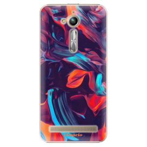 Plastové pouzdro iSaprio Barevný mramor 19 na mobil Asus ZenFone Go ZB500KL