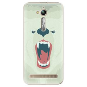 Plastové pouzdro iSaprio Angry Bear na mobil Asus ZenFone Go ZB500KL