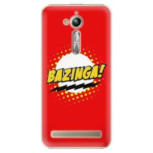Plastové pouzdro iSaprio Bazinga 01 na mobil Asus ZenFone Go ZB500KL