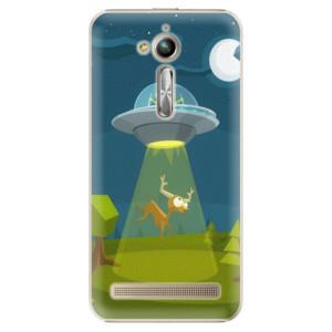 Plastové pouzdro iSaprio Alien 01 na mobil Asus ZenFone Go ZB500KL