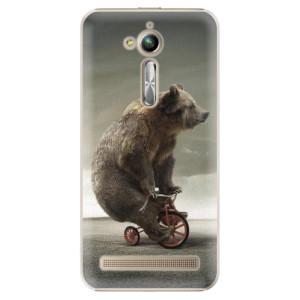 Plastové pouzdro iSaprio Bear 01 na mobil Asus ZenFone Go ZB500KL