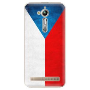 Plastové pouzdro iSaprio Česká Vlajka na mobil Asus ZenFone Go ZB500KL