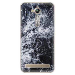 Plastové pouzdro iSaprio Praskliny na mobil Asus ZenFone Go ZB500KL