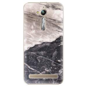 Plastové pouzdro iSaprio BW Mramor na mobil Asus ZenFone Go ZB500KL