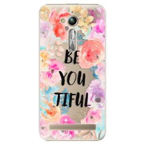 Plastové pouzdro iSaprio BeYouTiful na mobil Asus ZenFone Go ZB500KL
