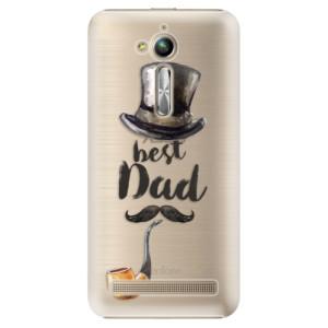 Plastové pouzdro iSaprio Best Dad na mobil Asus ZenFone Go ZB500KL