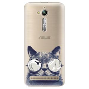 Plastové pouzdro iSaprio Šílená Číča 01 na mobil Asus ZenFone Go ZB500KL