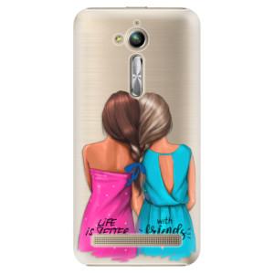 Plastové pouzdro iSaprio Best Friends na mobil Asus ZenFone Go ZB500KL