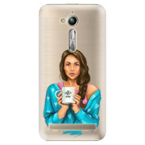 Plastové pouzdro iSaprio Coffee Now Brunetka na mobil Asus ZenFone Go ZB500KL