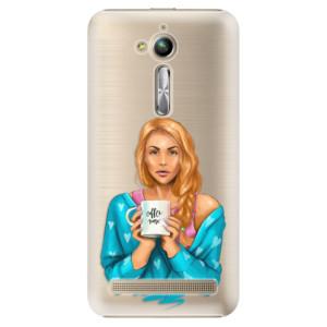 Plastové pouzdro iSaprio Coffee Now Zrzka na mobil Asus ZenFone Go ZB500KL