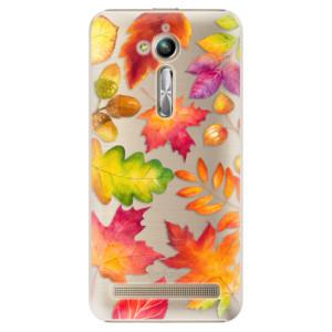 Plastové pouzdro iSaprio Autumn Leaves 01 na mobil Asus ZenFone Go ZB500KL