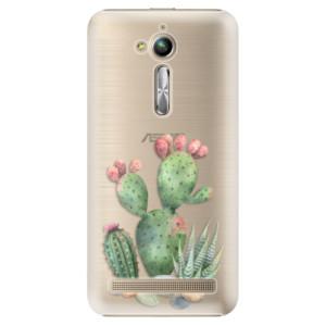 Plastové pouzdro iSaprio Kaktusy 01 na mobil Asus ZenFone Go ZB500KL