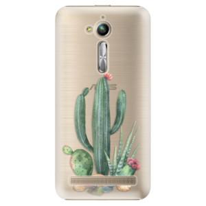 Plastové pouzdro iSaprio Kaktusy 02 na mobil Asus ZenFone Go ZB500KL