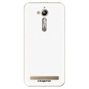 Plastové pouzdro iSaprio 4Pure bílé na mobil Asus ZenFone Go ZB500KL