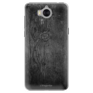 Plastové pouzdro iSaprio black Wood 13 na mobil Huawei Y5 2017 / Y6 2017