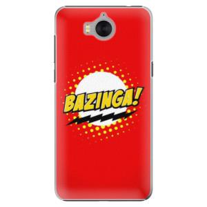Plastové pouzdro iSaprio Bazinga 01 na mobil Huawei Y5 2017 / Y6 2017