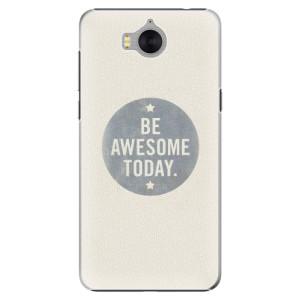 Plastové pouzdro iSaprio Awesome 02 na mobil Huawei Y5 2017 / Y6 2017