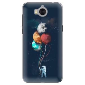 Plastové pouzdro iSaprio Balloons 02 na mobil Huawei Y5 2017 / Y6 2017