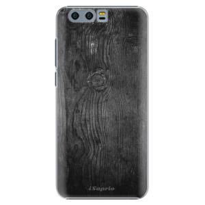 Plastové pouzdro iSaprio black Wood 13 na mobil Huawei Honor 9
