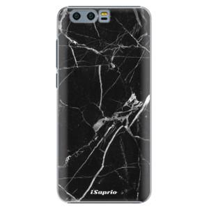 Plastové pouzdro iSaprio black Marble 18 na mobil Huawei Honor 9