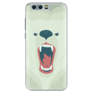Plastové pouzdro iSaprio Angry Bear na mobil Huawei Honor 9