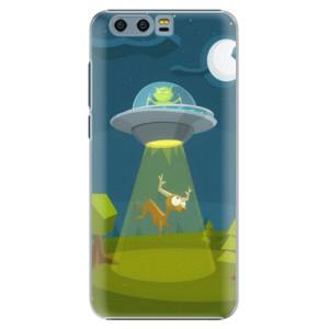 Plastové pouzdro iSaprio Alien 01 na mobil Huawei Honor 9
