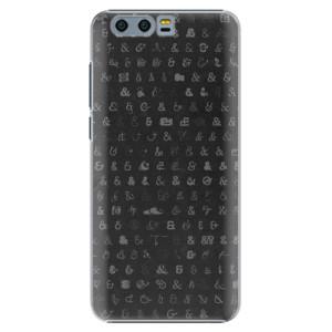 Plastové pouzdro iSaprio Ampersand 01 na mobil Huawei Honor 9