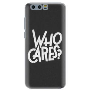 Plastové pouzdro iSaprio Who Cares na mobil Honor 9