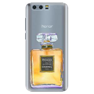 Plastové pouzdro iSaprio Chanel Gold na mobil Honor 9