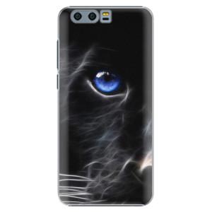 Plastové pouzdro iSaprio black Puma na mobil Huawei Honor 9