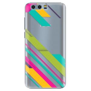 Plastové pouzdro iSaprio Barevné Pruhy 03 na mobil Honor 9