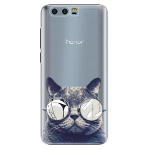 Plastové pouzdro iSaprio Šílená Číča 01 na mobil Honor 9