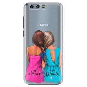 Plastové pouzdro iSaprio Best Friends na mobil Huawei Honor 9