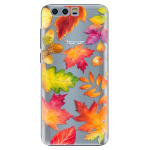 Plastové pouzdro iSaprio Autumn Leaves 01 na mobil Huawei Honor 9