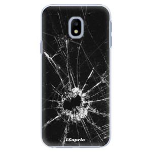 Plastové pouzdro iSaprio Broken Glass 10 na mobil Samsung Galaxy J3 2017