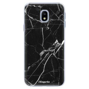 Plastové pouzdro iSaprio black Marble 18 na mobil Samsung Galaxy J3 2017