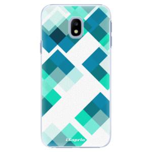 Plastové pouzdro iSaprio Abstract Squares 11 na mobil Samsung Galaxy J3 2017