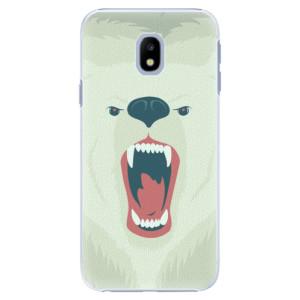 Plastové pouzdro iSaprio Angry Bear na mobil Samsung Galaxy J3 2017