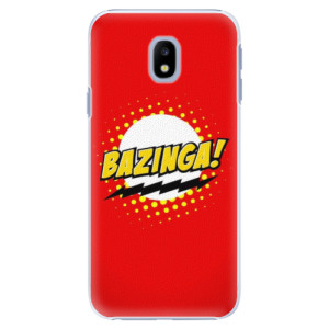 Plastové pouzdro iSaprio Bazinga 01 na mobil Samsung Galaxy J3 2017